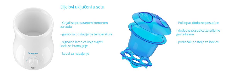 216 BabyOno grijač za bočice sa sterilizirajućom funkcijom slika 10